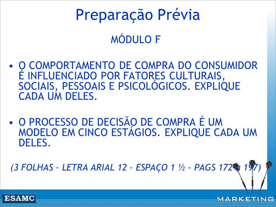(3 FOLHAS – LETRA ARIAL 12 – ESPAÇO 1 ½ - PAGS 172 a 197)
