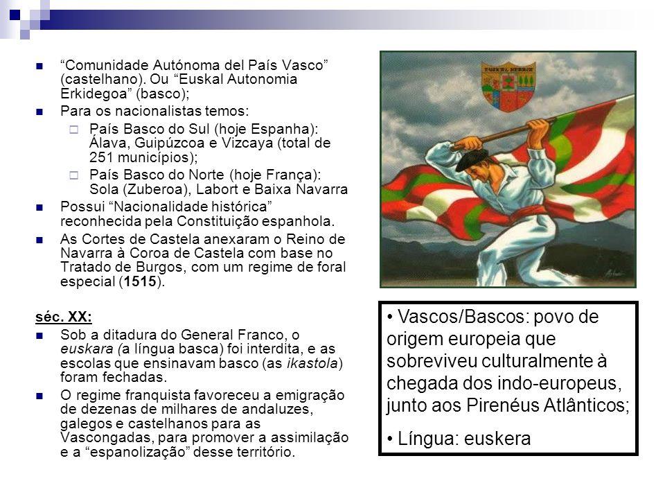 Comunidade Autónoma del País Vasco (castelhano)