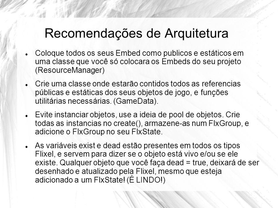 Recomendações de Arquitetura