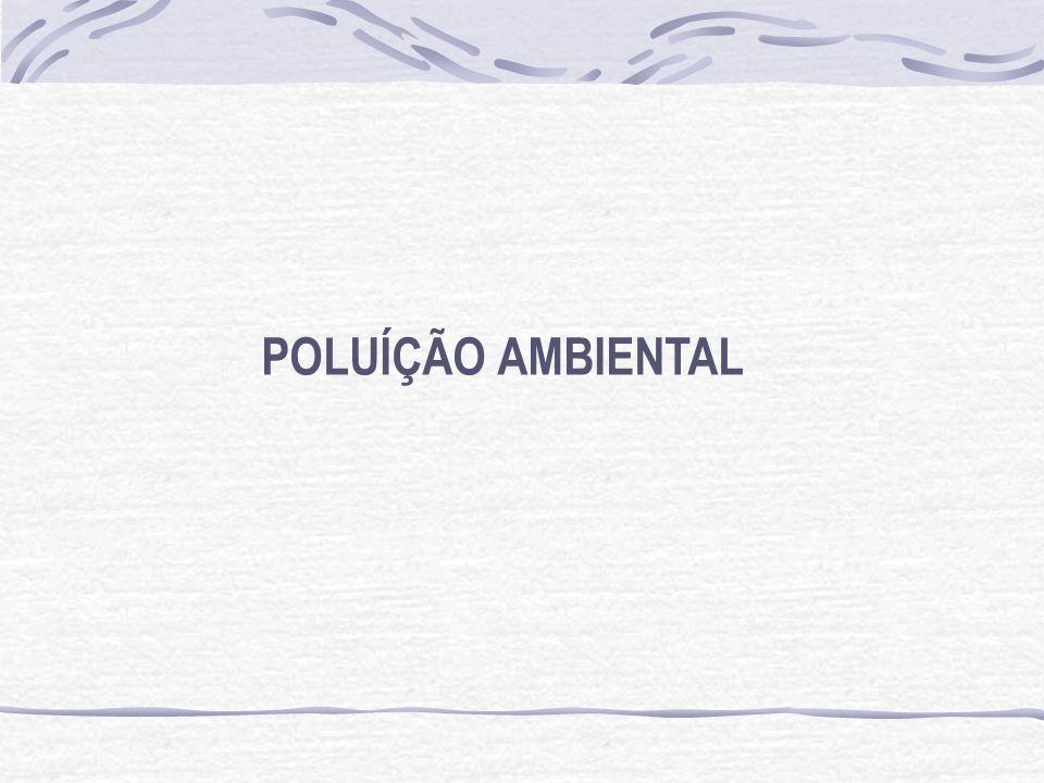 POLUÍÇÃO AMBIENTAL