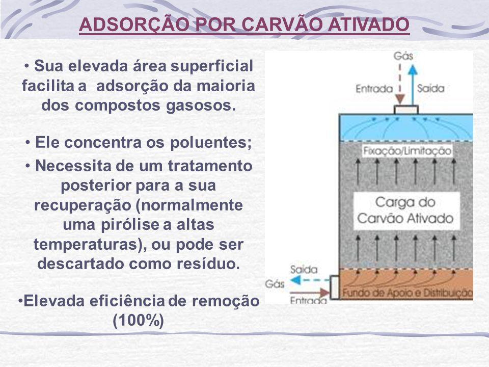 ADSORÇÃO POR CARVÃO ATIVADO
