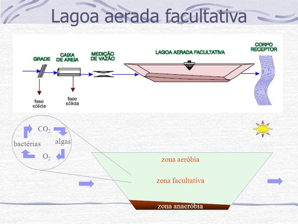 Lagoa aerada facultativa