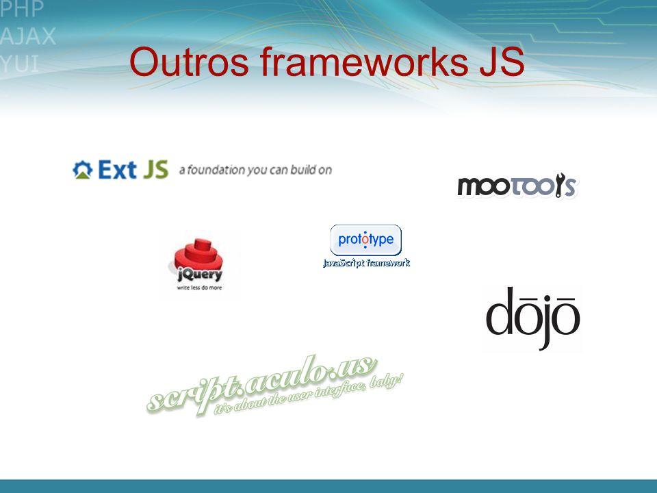 Outros frameworks JS