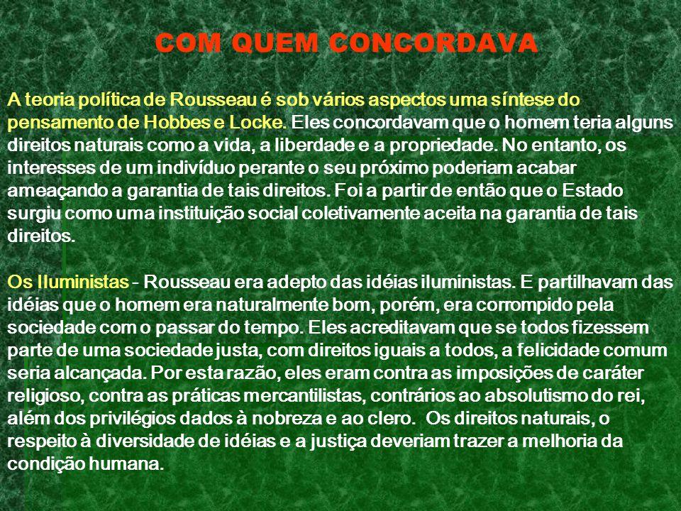 COM QUEM CONCORDAVA