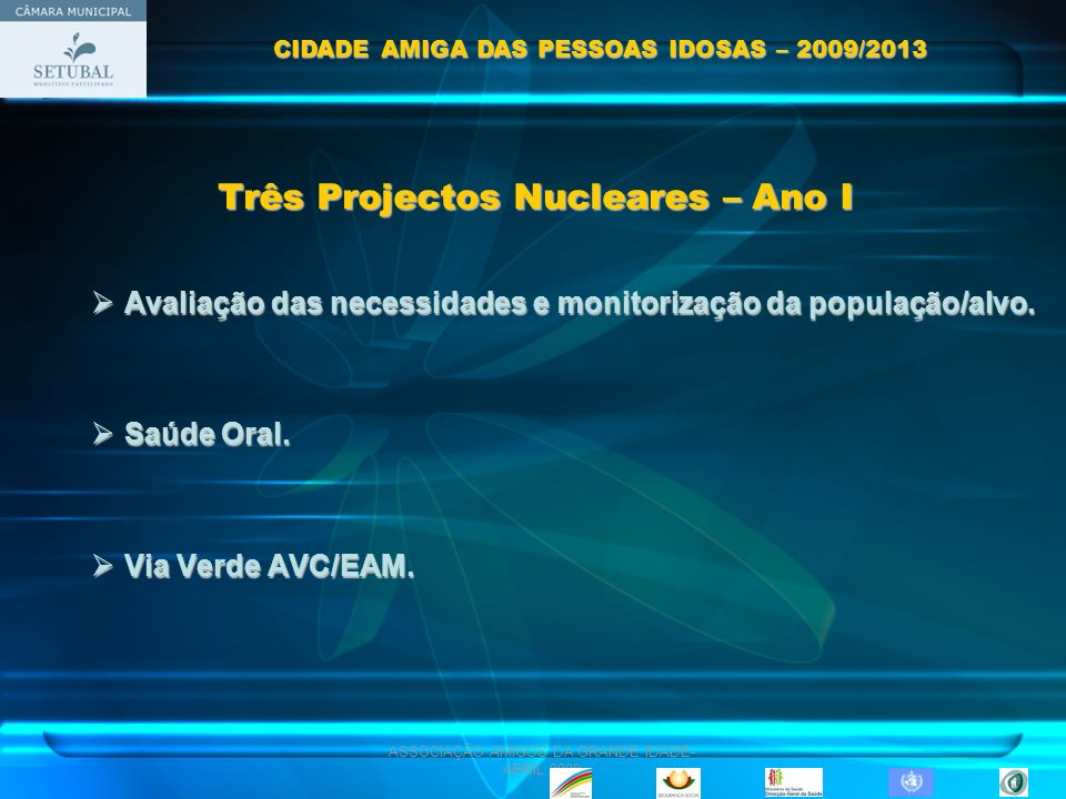 Três Projectos Nucleares – Ano I
