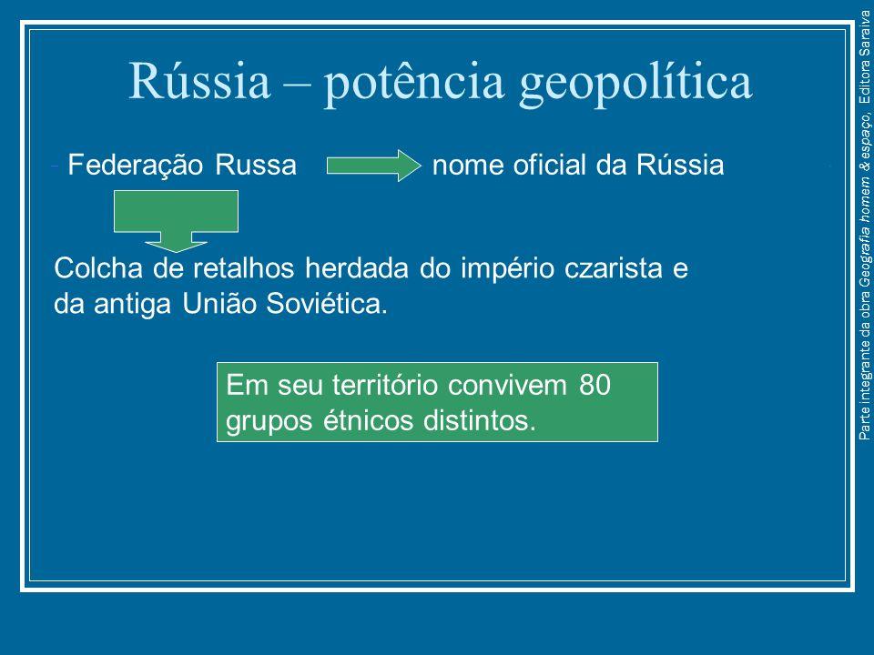 Rússia – potência geopolítica