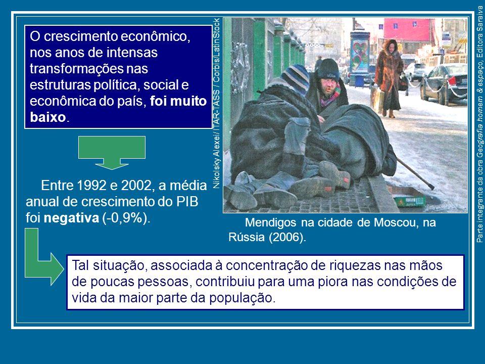 O crescimento econômico, nos anos de intensas transformações nas estruturas política, social e econômica do país, foi muito baixo.