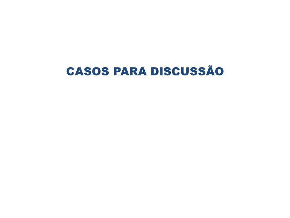 CASOS PARA DISCUSSÃO