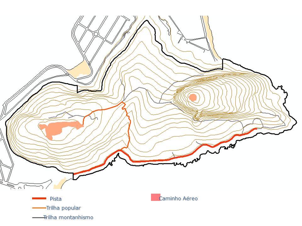 Pista Caminho Aéreo Trilha popular Trilha montanhismo