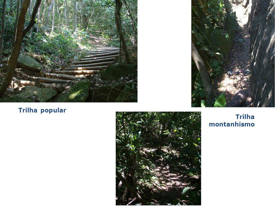 Trilha popular Trilha montanhismo