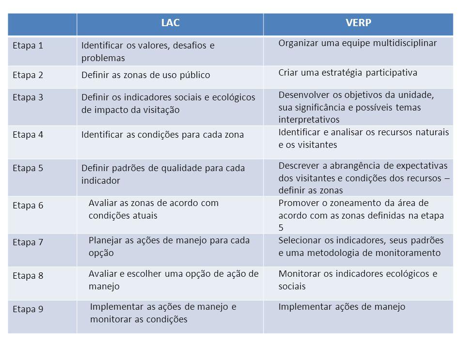 LAC VERP Etapa 1 Identificar os valores, desafios e problemas