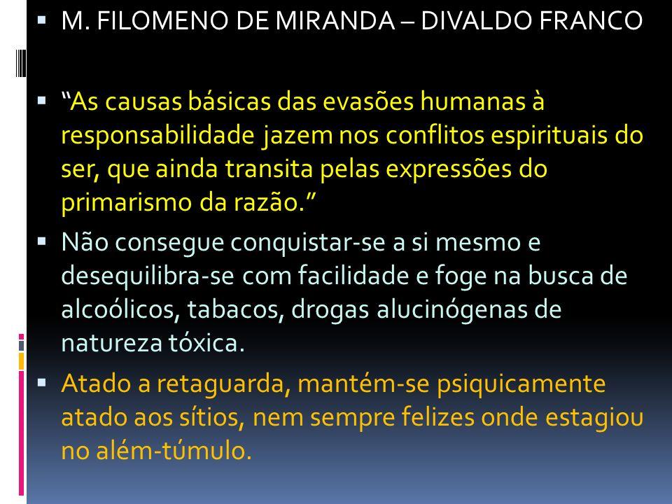 M. FILOMENO DE MIRANDA – DIVALDO FRANCO