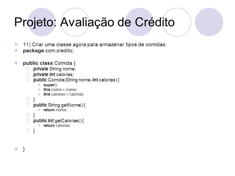 Projeto: Avaliação de Crédito