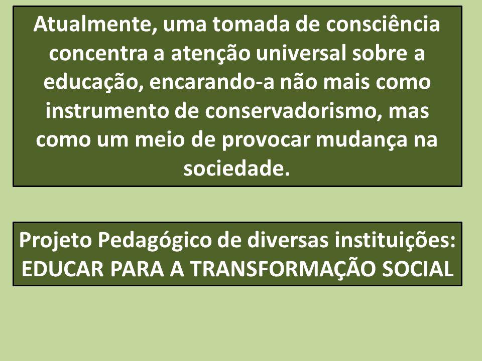Projeto Pedagógico de diversas instituições: