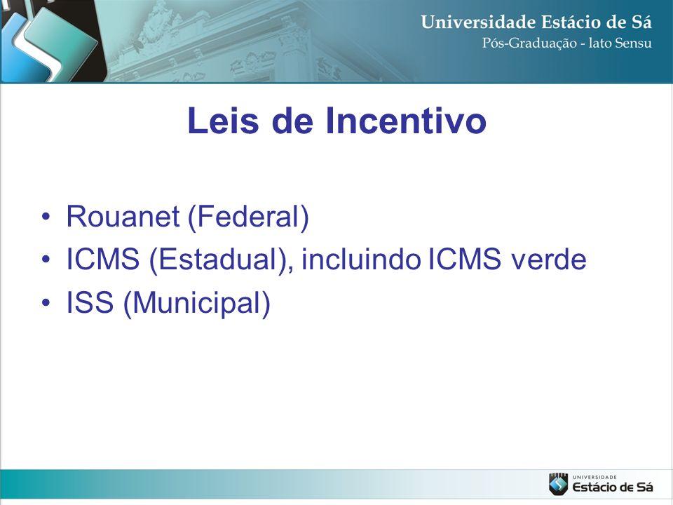 Leis de Incentivo Rouanet (Federal)