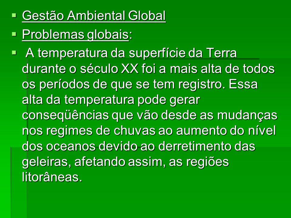 Gestão Ambiental Global
