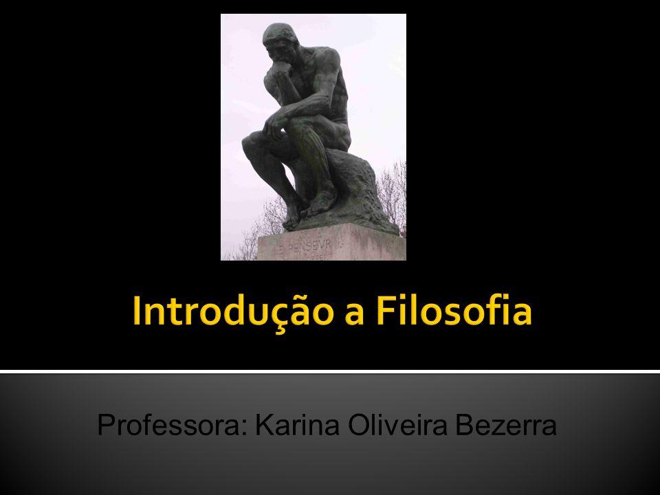 Introdução a Filosofia