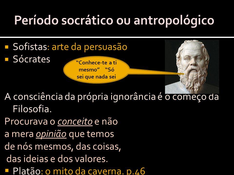 Período socrático ou antropológico
