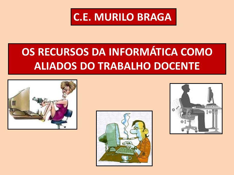 OS RECURSOS DA INFORMÁTICA COMO ALIADOS DO TRABALHO DOCENTE
