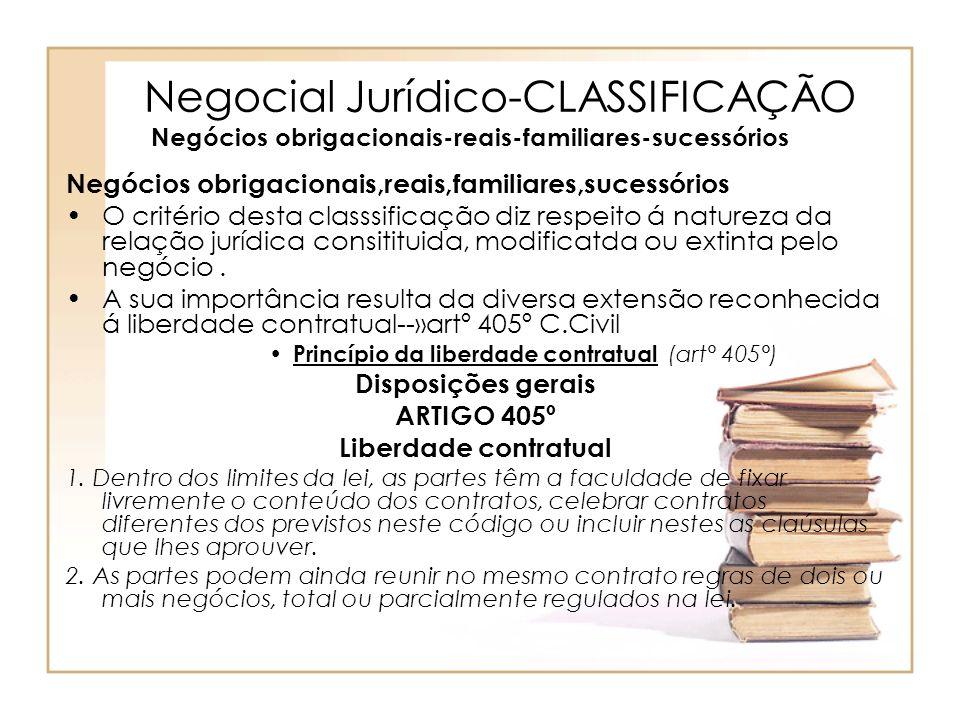 Princípio da liberdade contratual (art° 405°)