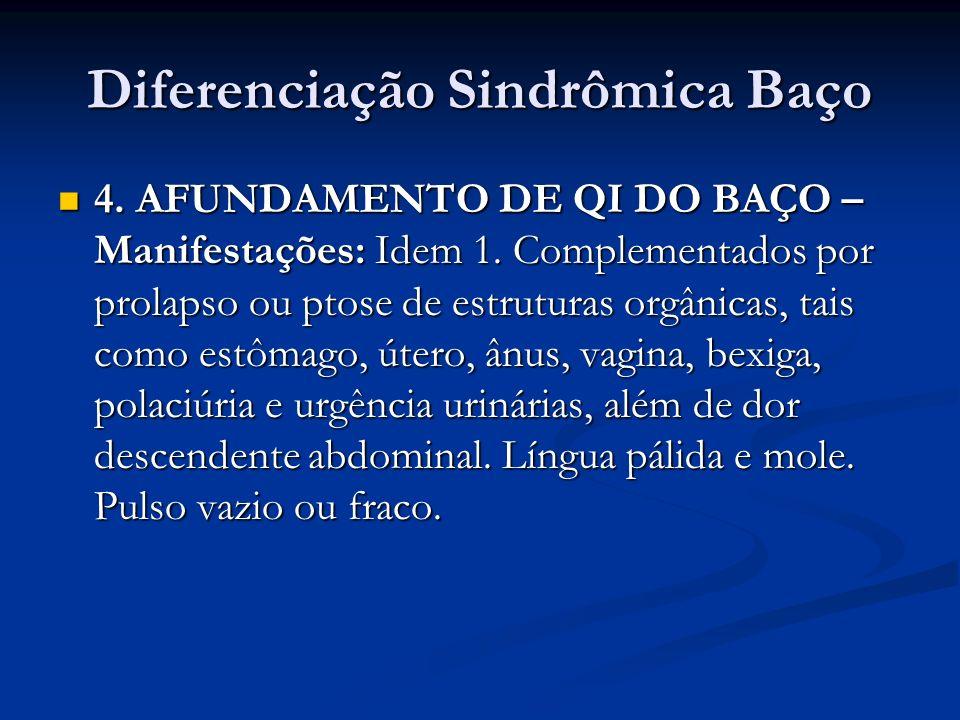 Diferenciação Sindrômica Baço