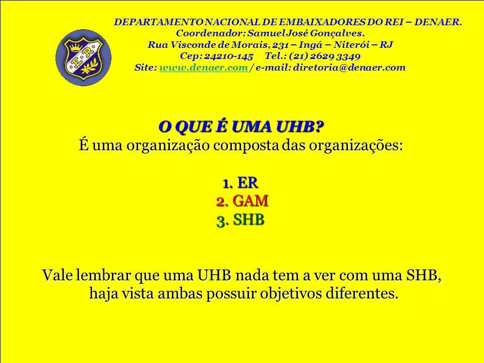 É uma organização composta das organizações: 1. ER 2. GAM 3. SHB