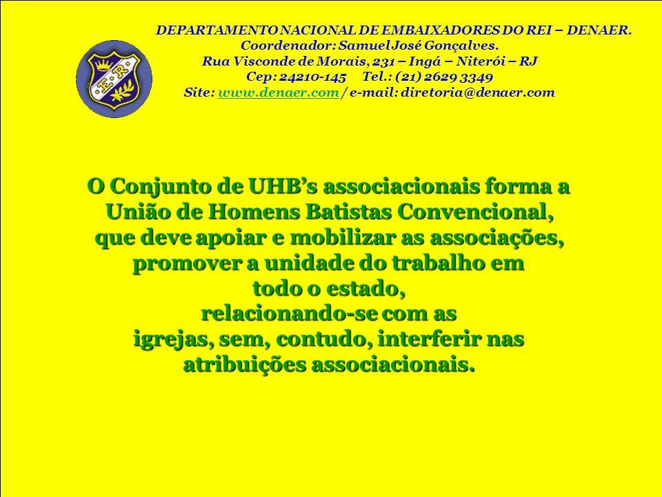 O Conjunto de UHB's associacionais forma a