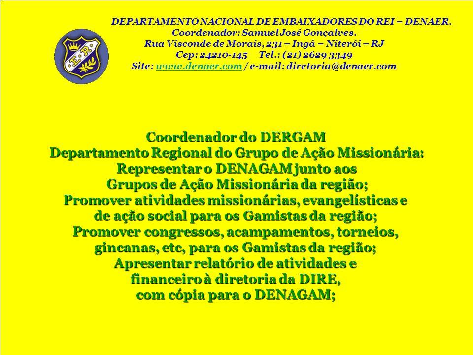Departamento Regional do Grupo de Ação Missionária: