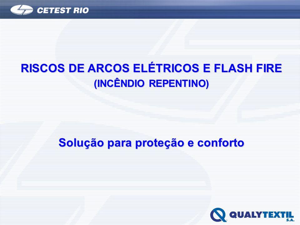 RISCOS DE ARCOS ELÉTRICOS E FLASH FIRE