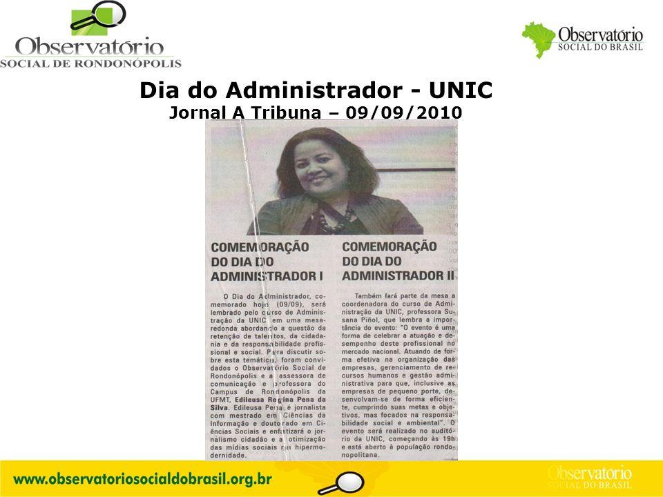 Dia do Administrador - UNIC