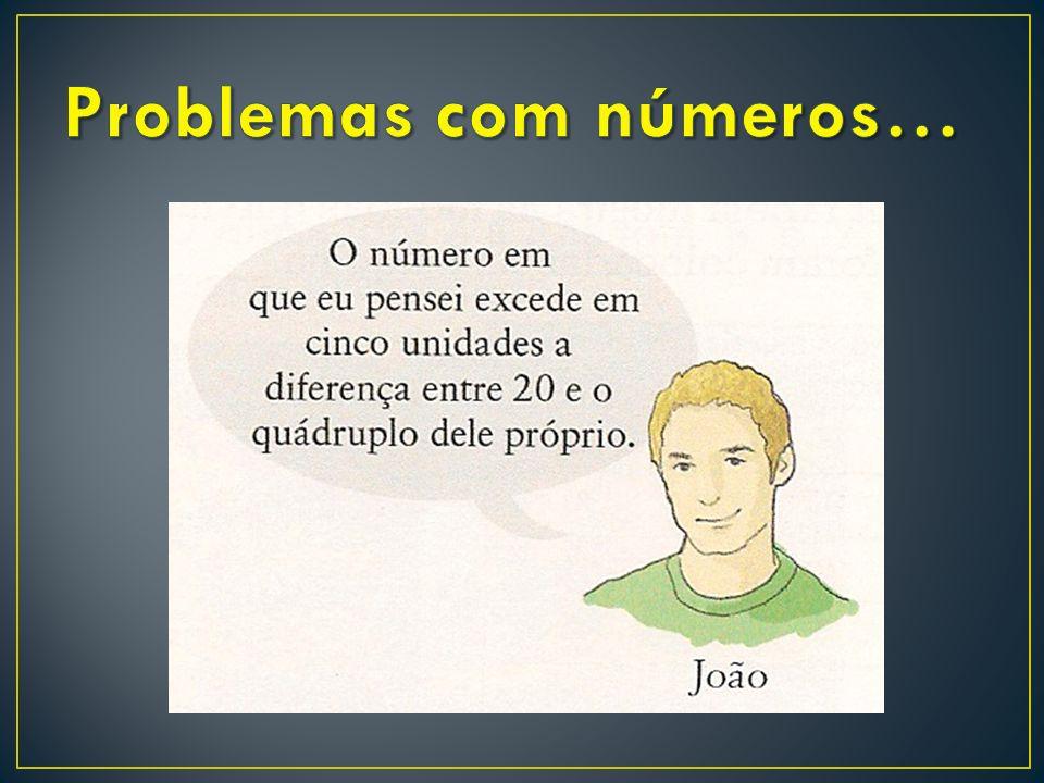 Problemas com números…