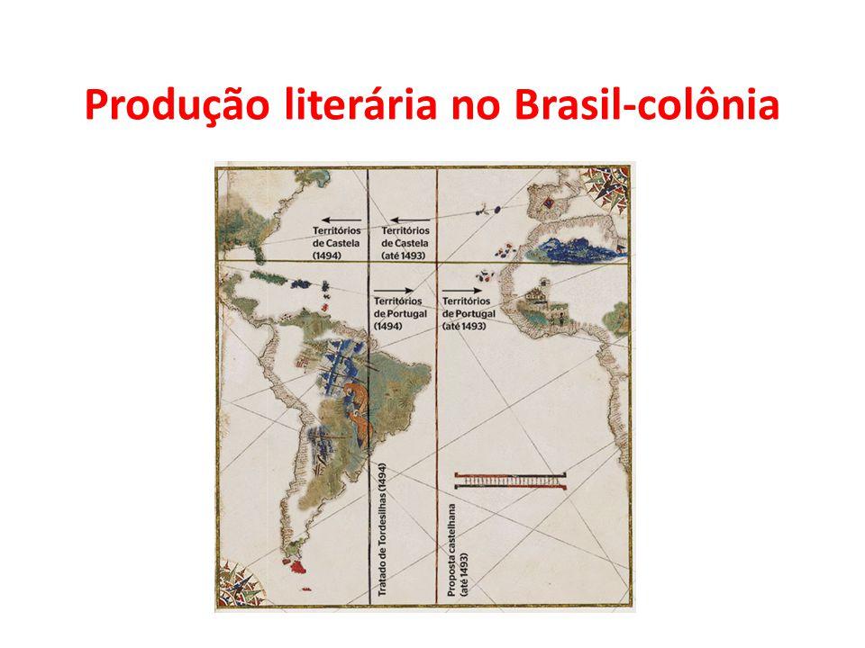 Produção literária no Brasil-colônia