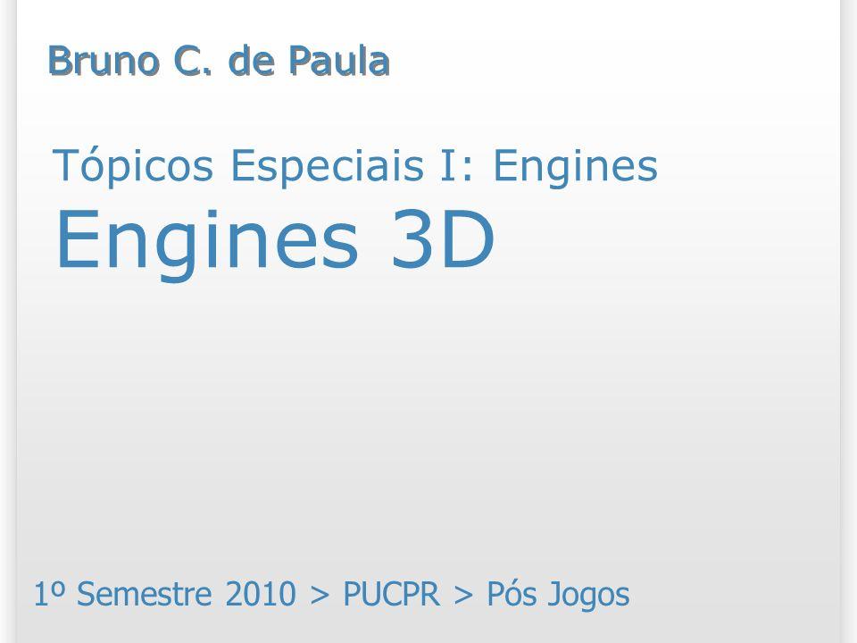 Tópicos Especiais I: Engines Engines 3D