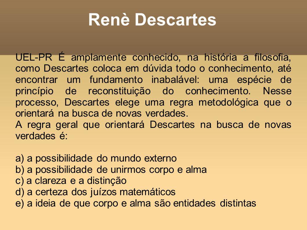 Renè Descartes
