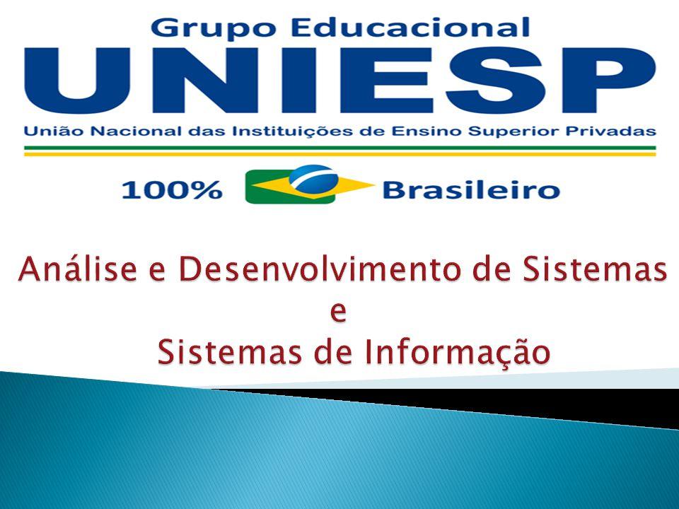 Análise e Desenvolvimento de Sistemas e Sistemas de Informação