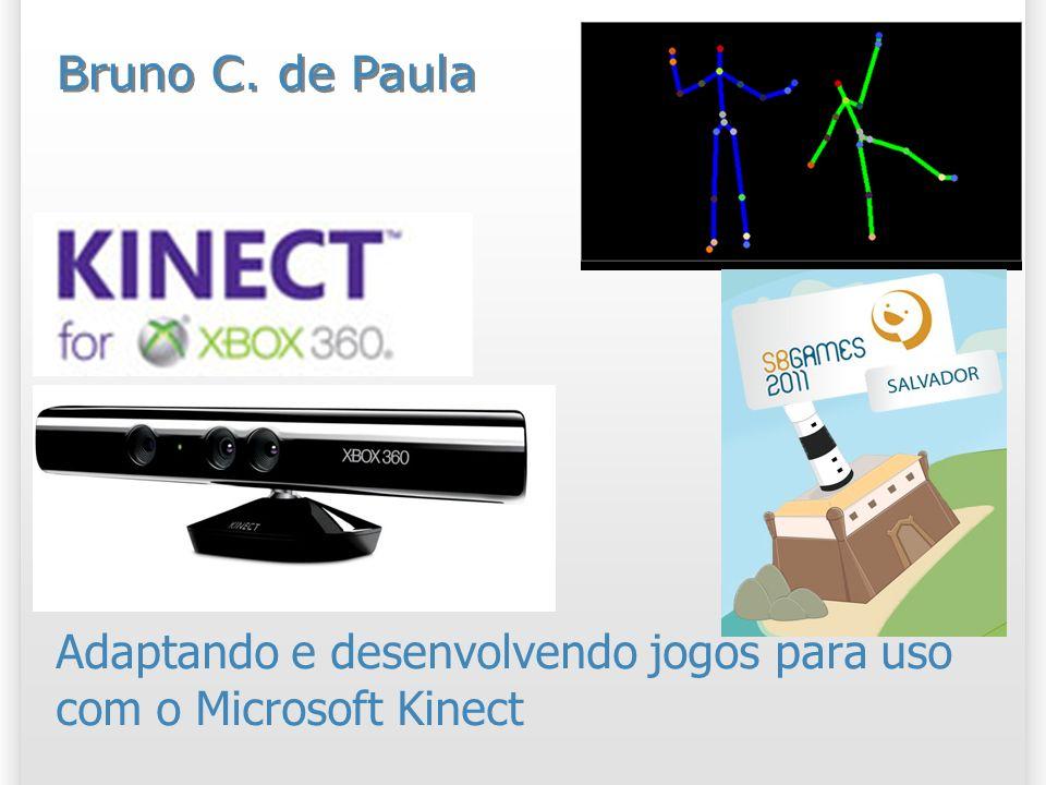 Adaptando e desenvolvendo jogos para uso com o Microsoft Kinect