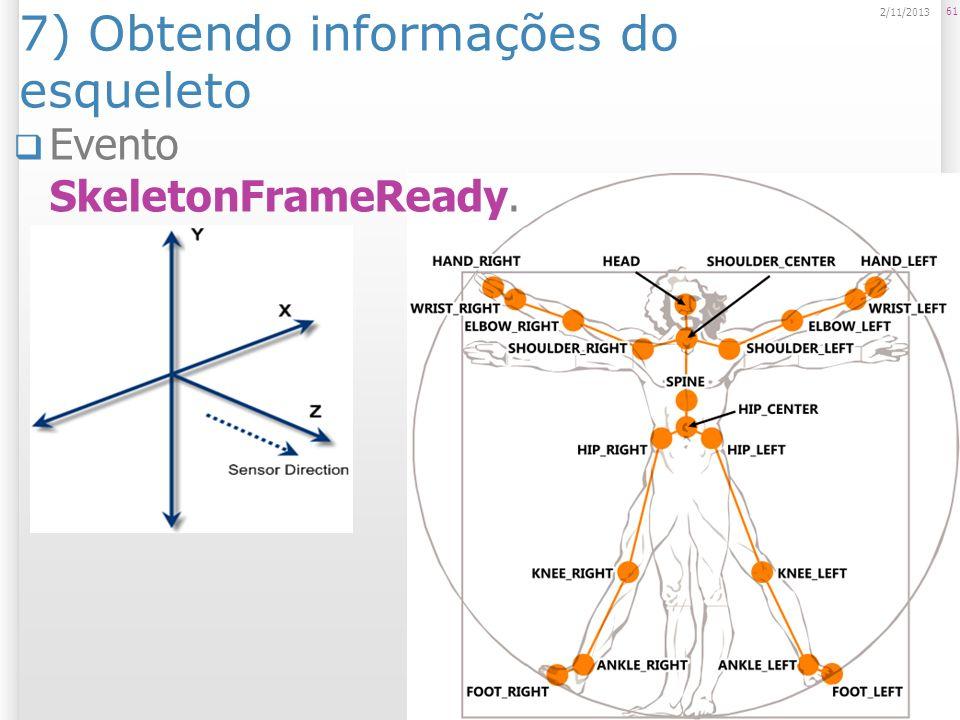 7) Obtendo informações do esqueleto