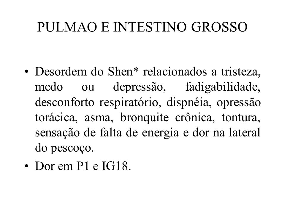PULMAO E INTESTINO GROSSO