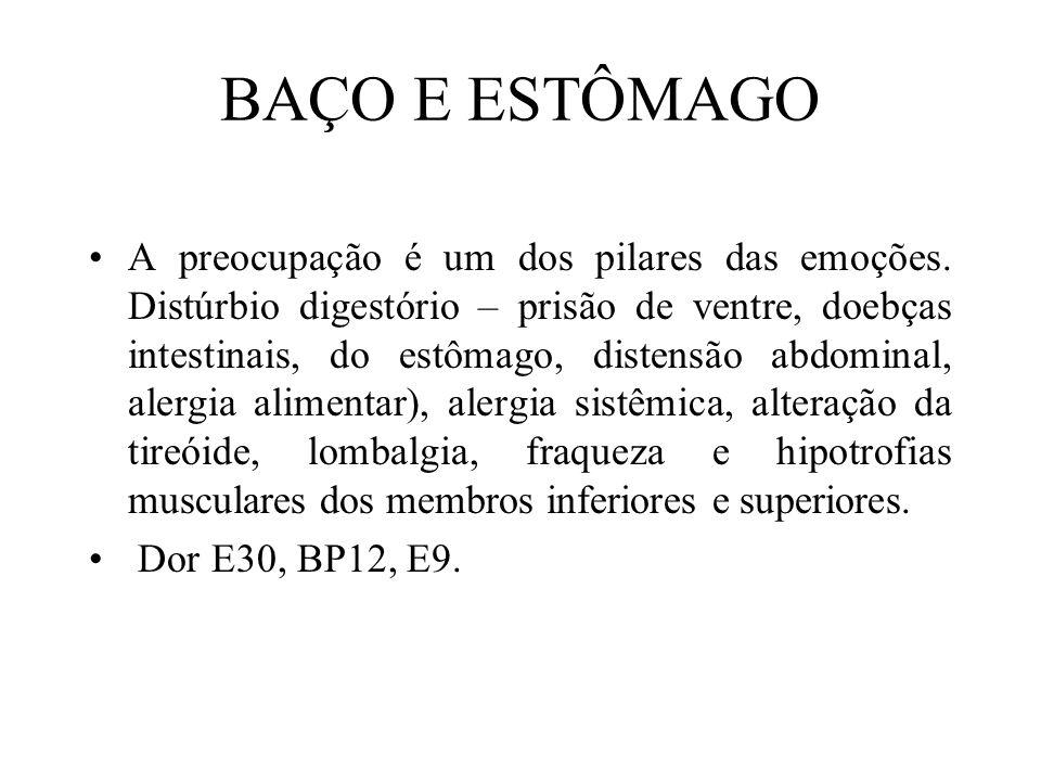 BAÇO E ESTÔMAGO