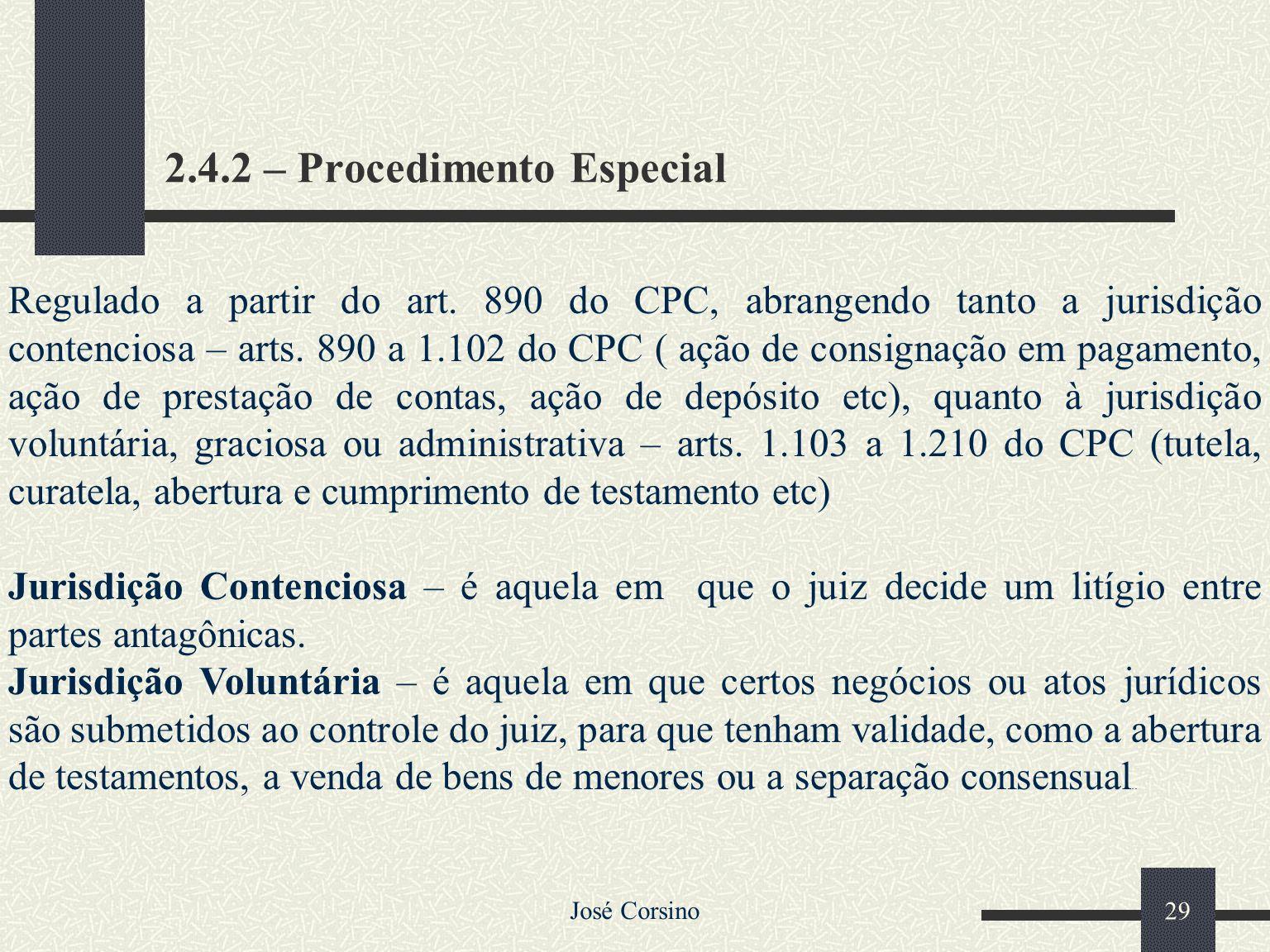 2.4.2 – Procedimento Especial