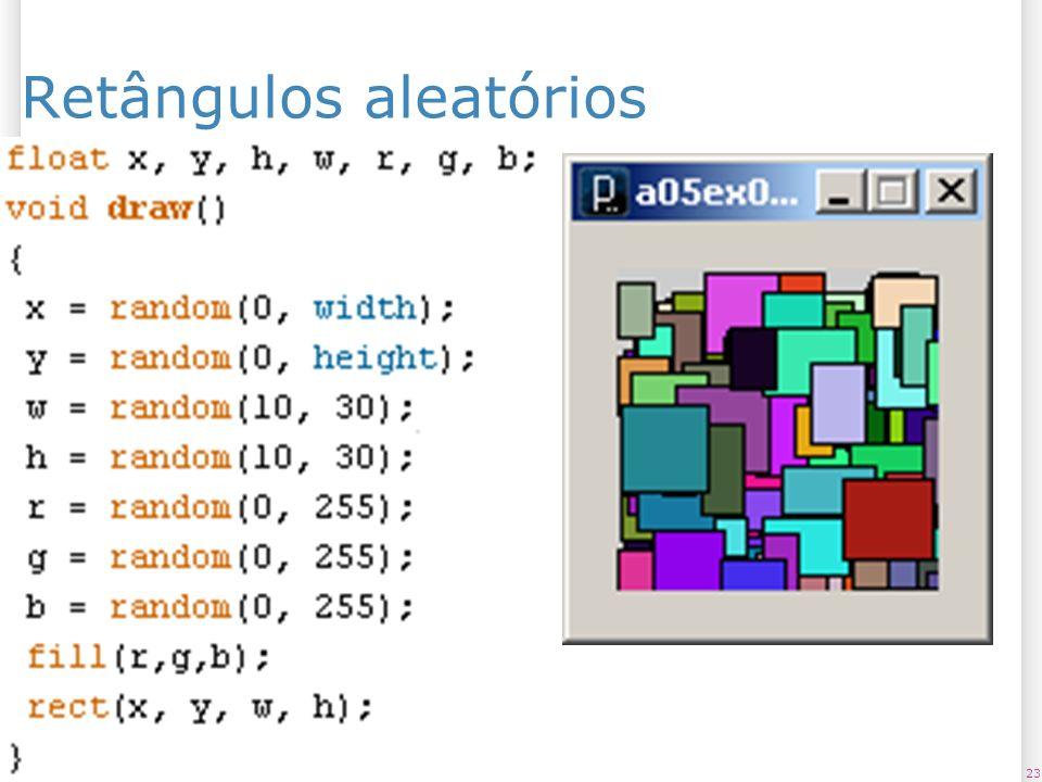 Retângulos aleatórios