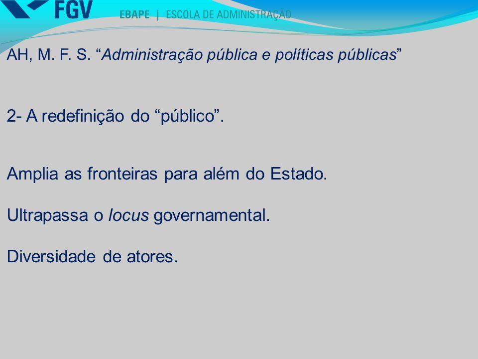 2- A redefinição do público .