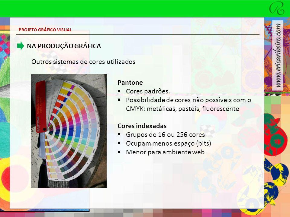 Outros sistemas de cores utilizados