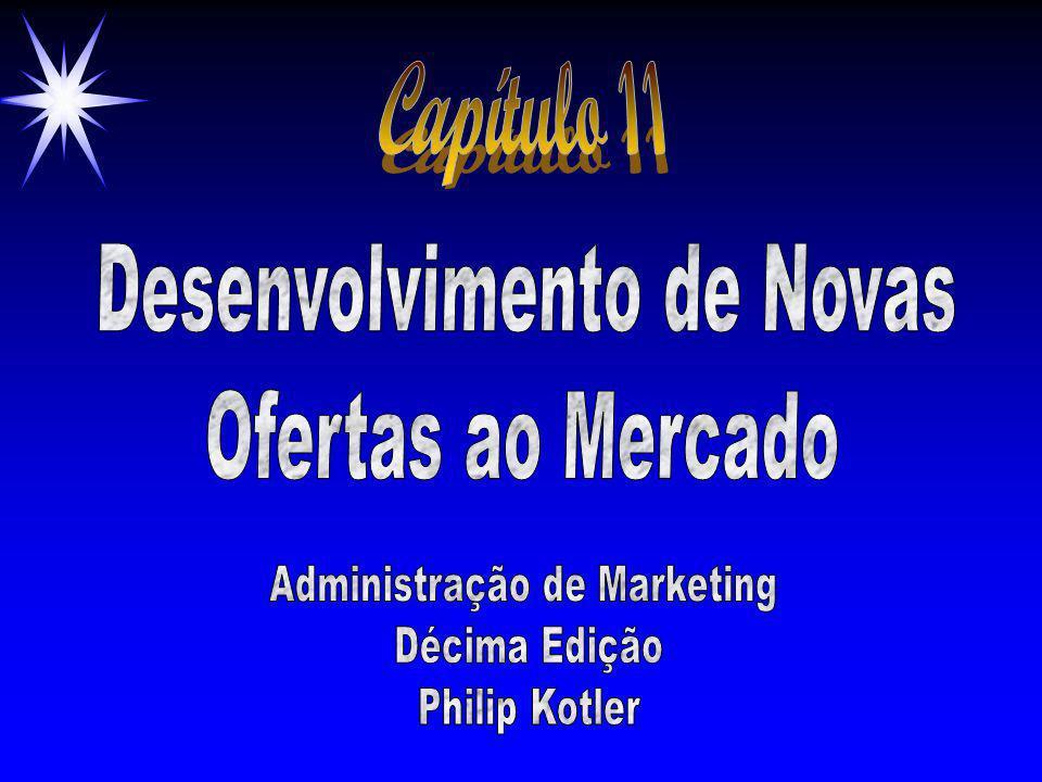 Capítulo 11 Desenvolvimento de Novas Ofertas ao Mercado