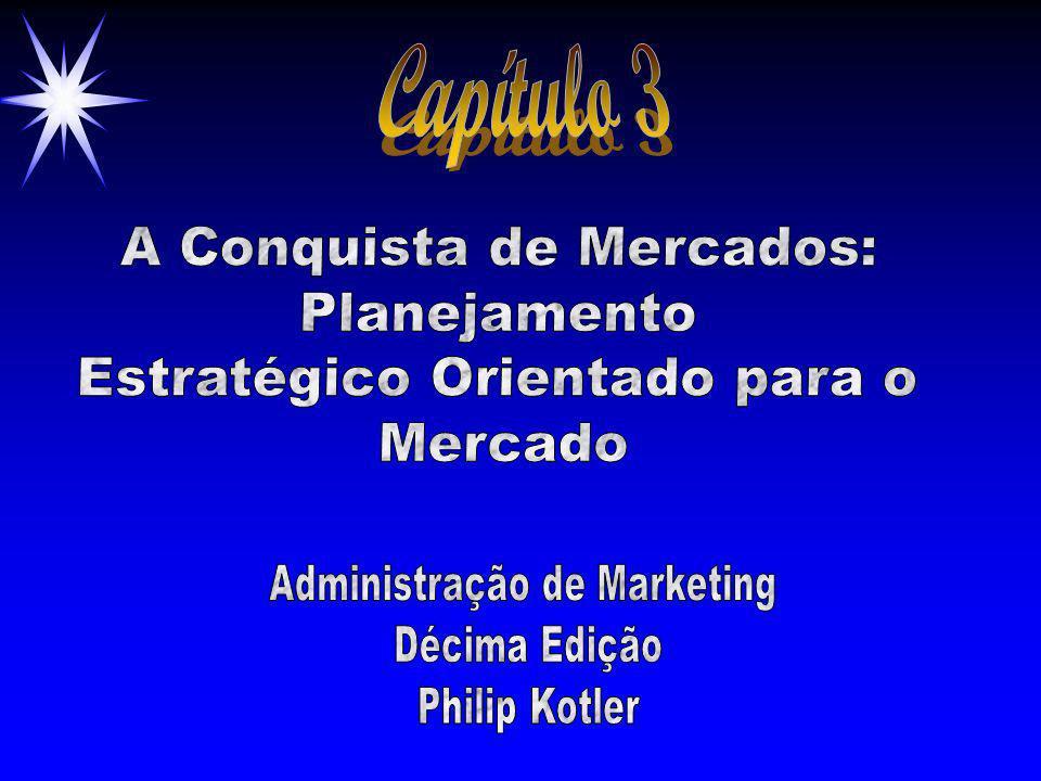 Capítulo 3 A Conquista de Mercados: Planejamento