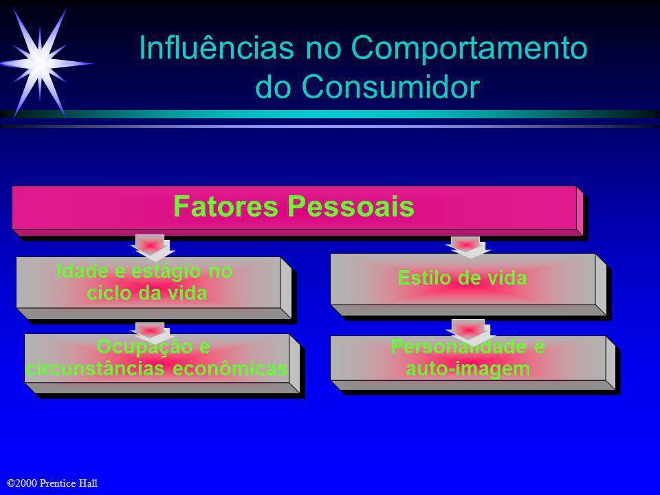 Influências no Comportamento do Consumidor