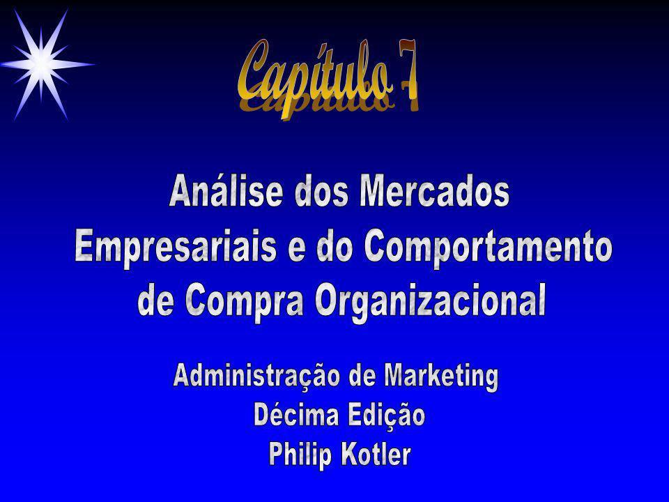Capítulo 7 Análise dos Mercados Empresariais e do Comportamento