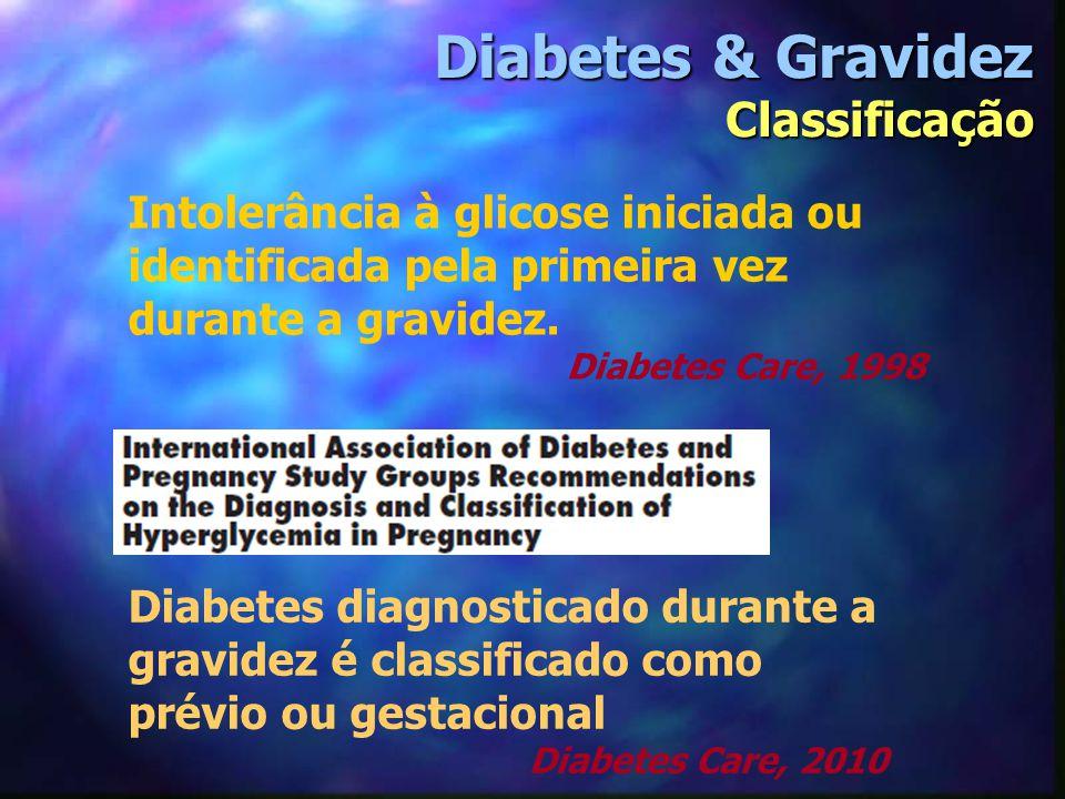 Diabetes & Gravidez Classificação