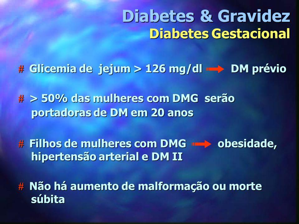 Diabetes & Gravidez Diabetes Gestacional