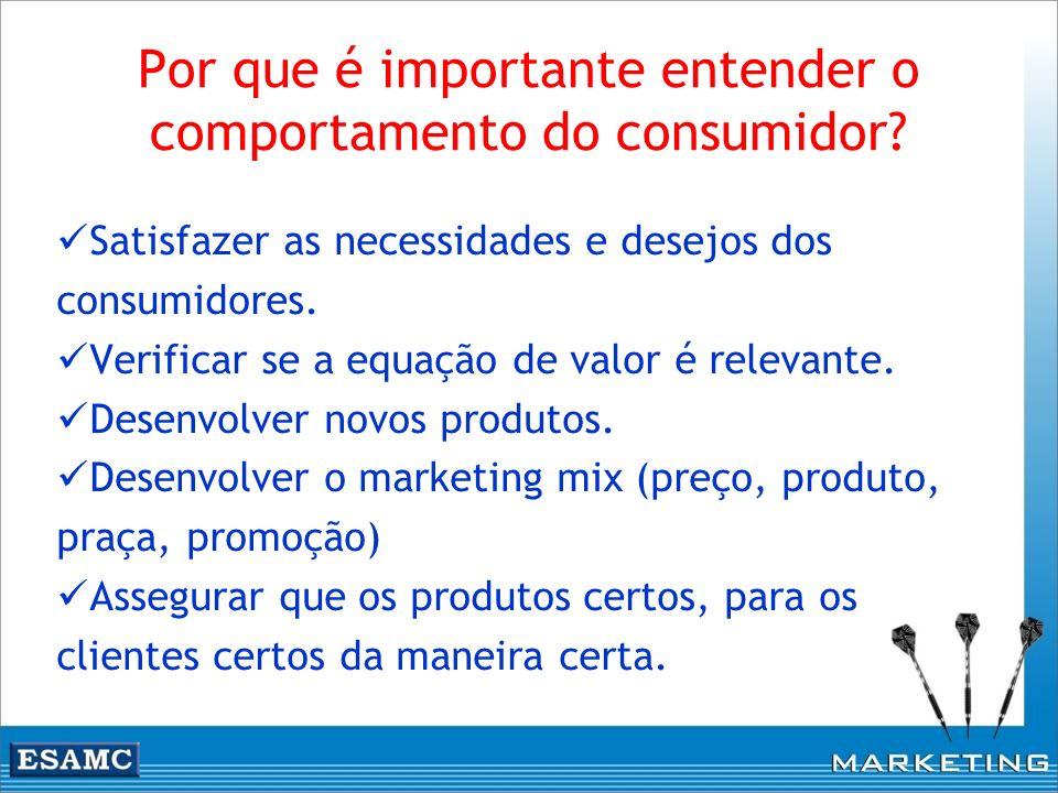 Por que é importante entender o comportamento do consumidor